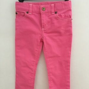 Lily Pulitzer Hot Pink Jeans